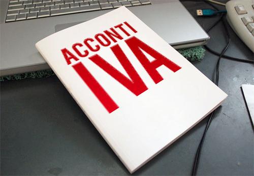 VERSAMENTO DELL'ACCONTO IVA PER L'ANNO 2019