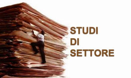 """STUDI DI SETTORE CON VALORE DI """"COMPLIANCE"""" PER IL PERIODO D'IMPOSTA 2017"""