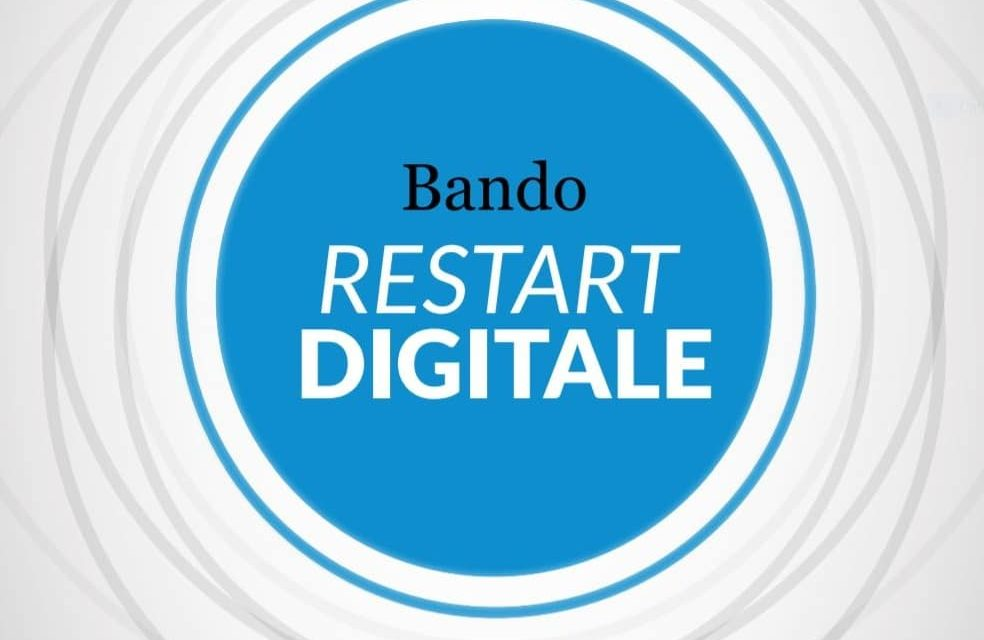 Bando Restart Digitale