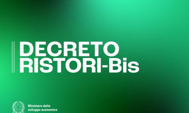 Decreto Ristori-Bis : tutti gli articoli in sintesi
