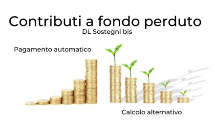 I nuovi contributi a Fondo Perduto del Decreto Sostegni Bis